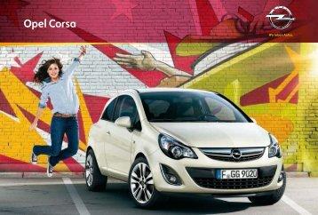 Opel Corsa Katalog