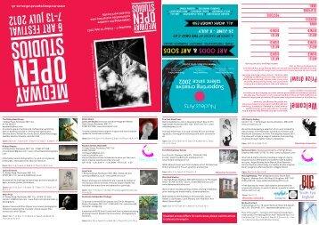 signed - Medway Open Studios & Art Festival