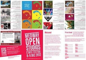 December 2012 Festival Guide - Medway Open Studios & Art Festival