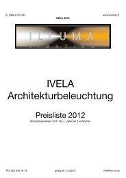 IVELA Architekturbeleuchtung - Illuma
