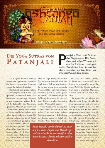 Die Yoga Sutras von Patanjali