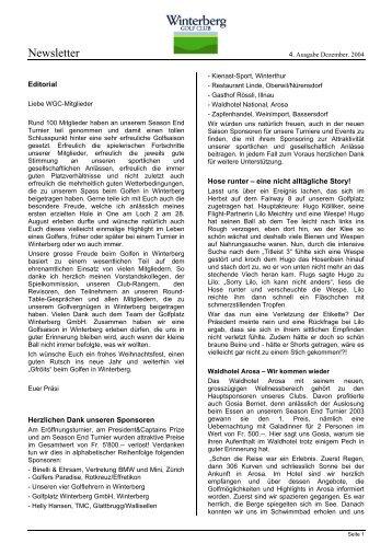4. Ausgabe Dezember 2004 (30 kb)