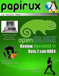 Review: OpenSUSE 11 Beta 2 con KDE4