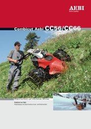 Combicut Aebi CC56/CC66