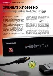 OPENSAT XT-9500 HD