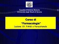 Lez Farmacologia AA12-13 FANS (pdf, it, 1787 - Università degli ...