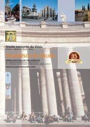 Unsere Broschüre zum Herunterladen - Italienisch Sprachschulen ...