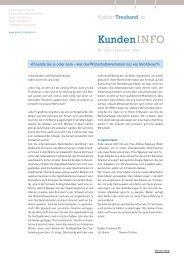 Sicherheit in der Informatik (IT-Security) - Gubler Treuhand AG