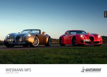 2012 Roadster MF5 Final Edition Brochure - English - Motorshow.me