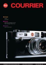 VITRINE PEOPLE SERVICE - Leica Camera AG