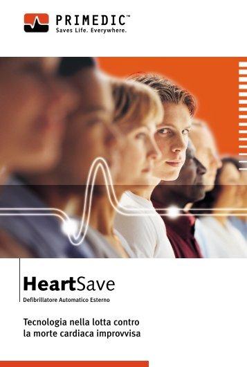 HeartSave - Roversi Elettro Medicali home page