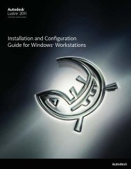 Installation and Configuration Guide for Windows ... - Autodesk