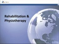Rehabilitation & Physiotherapy - Future Sessions