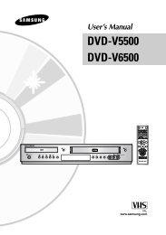DVD-V5500 DVD-V6500 - Get a Free Blog
