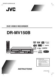 DR-MV150B - JVC