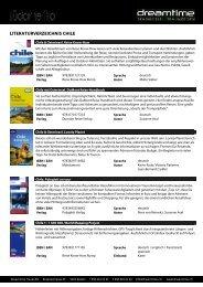 Literaturverzeichnis SÜDAMERIKA - Dreamtime Travel