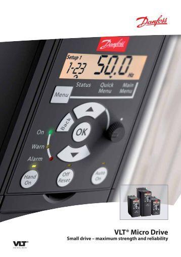 8 electrical connection vlt® micro drive danfoss