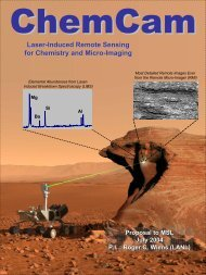 Laser-Induced Remote Sensing for Chemistry and Micro-Imaging
