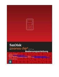 Bedienungsanleitung - SanDisk