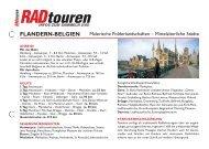 flandern-belgien - Radtouren Magazin