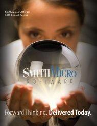 Smith Micro Software 2011 Annual Report - Smith Micro Software, Inc.