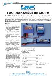 Das Lebenselixier für Akkus! - Airmix