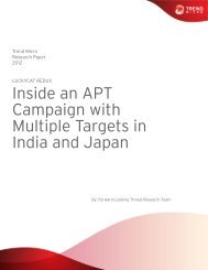 Luckycat Redux: Inside an APT Campaign with ... - Trend Micro