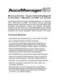 AccuPower AccuManager20 AP2020 Manual - Seite 4