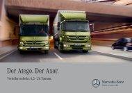 Der Atego. Der Axor. - Mercedes-Benz Luxembourg