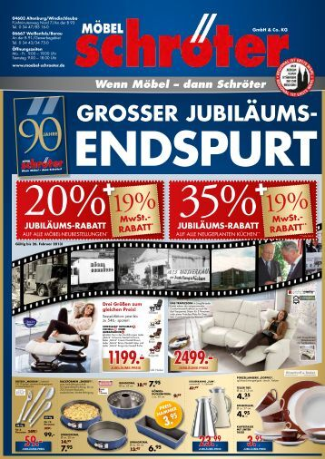 7 free magazines from moebel schroeter de. Black Bedroom Furniture Sets. Home Design Ideas