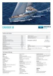 Bavaria Cruiser 56 PL 02-2013 - Allert Marin GmbH