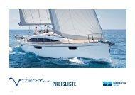 Price List 2013- Bavaria VISION 42   46 (German - Cosmos Yachting