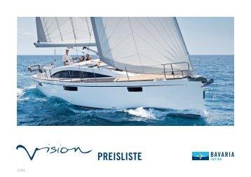 Price List 2013- Bavaria VISION 42 | 46 (German - Cosmos Yachting