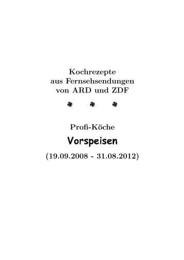 Vorspeisen - Hhollatz.de