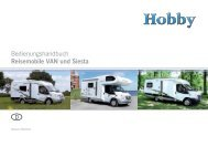 deutsch (PDF; 4,07 MB) - Hobby Caravan