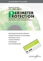 Servicehandbuch für Aussteller - Perimeter Protection