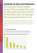 Infobroschüre Gastronomie - proKlima Hannover - Seite 2