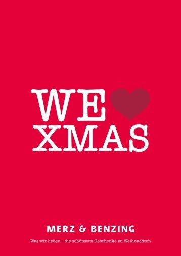 Was wir lieben – die schönsten Geschenke zu ... - Merz und Benzing