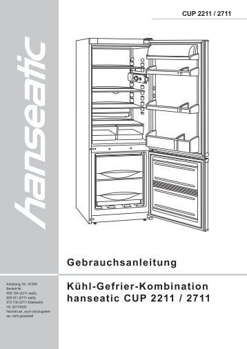 Gebrauchsanleitung gefrierschrank hanseatic gnh 56625 for Gefrier