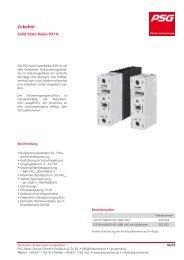 Solid State Relais RX1A - psg-online.de