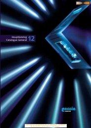 Téléchargez le catalogue 2012 Goccia - CCL Light