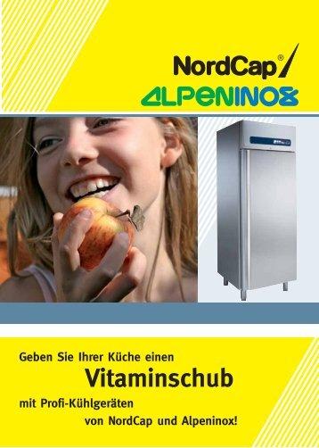 Profi-Kühlgeräte von NordCap und Alpeninox | Geben Sie Ihrer ...