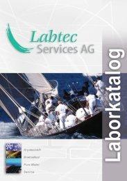K A T A L O G - Labtec Services AG