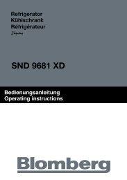 SND 9681 XD - Blomberg