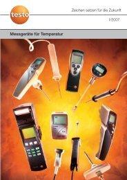 Messgeräte für Temperatur