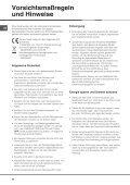 Gebrauchsanleitungen - Page 7