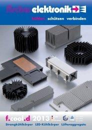 DOWNLOAD Katalog Kühlkörper f.cool - Fischer Elektronik