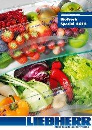 BioFresh Special 2012 - Liebherr
