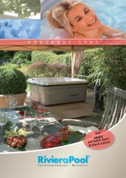 Riviera Pool Portable Spas Katalog - Wellness und Fun ...