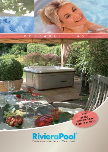 Riviera Pool Portable Spas Katalog - Wellness und Fun ...